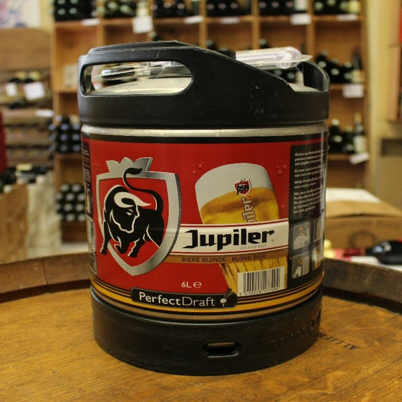 Fût Jupiler 6 litres Perfect Draft