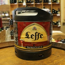 Fût Leffe Ruby 6 litres Perfect Draft