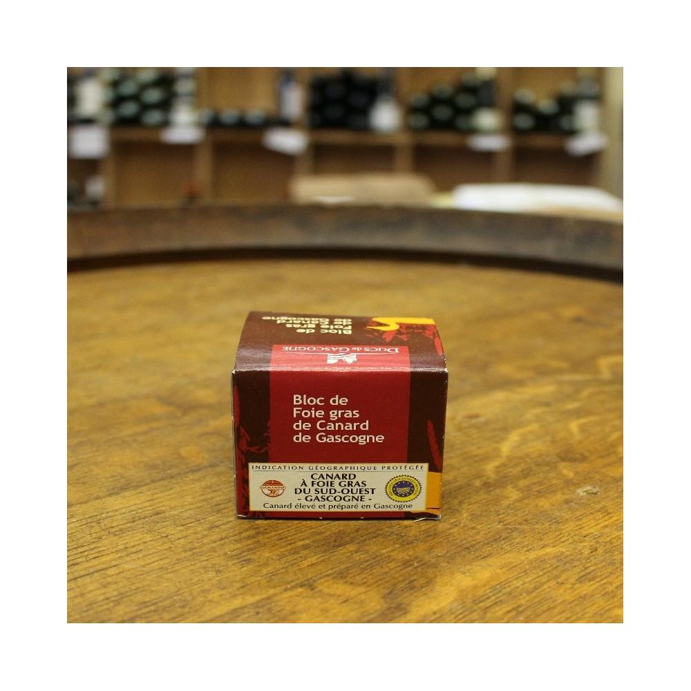 Bloc de foie gras de canard de Gascogne 70 g.