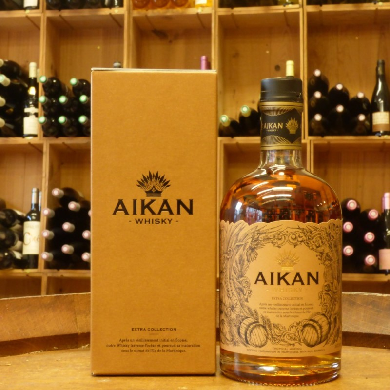 Aikan extra collection  whisky de Martinique