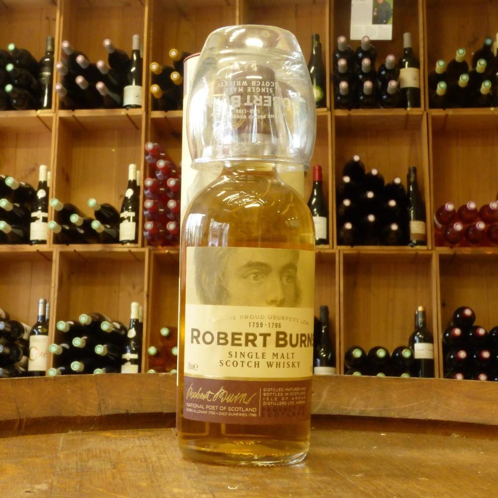 Arran Robert Burns single malt coffret 1 verre