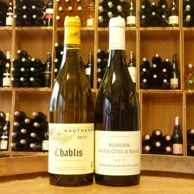 Duo Bourgogne Blanc & Rouge