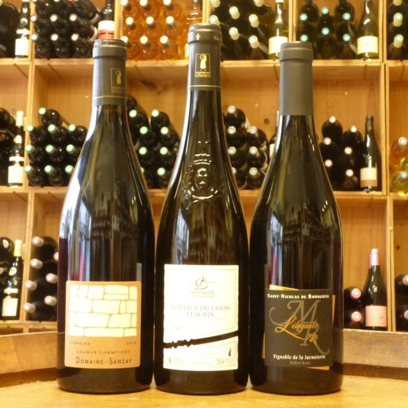 Coffret Trio vins du Val de Loire
