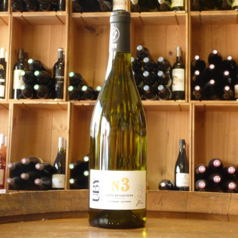 Côtes de Gascogne Domaine Uby N°3 2020